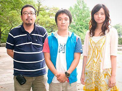 大森ら実力派キャストを迎え、撮影が行われている『ポテチ』!-写真は中村義洋監督、濱田岳、木村文乃(左から)