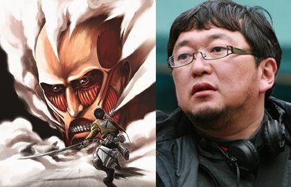 実写映画製作が再始動する「進撃の巨人」とメガホンを取る樋口真嗣監督