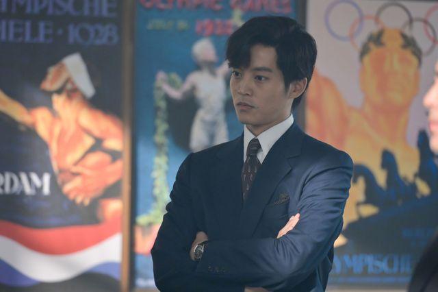 大河ドラマ「いだてん」で、日本オリンピック委員会の岩田幸彰にふんする松坂桃李