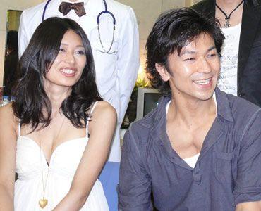 笑顔の武田とNorA