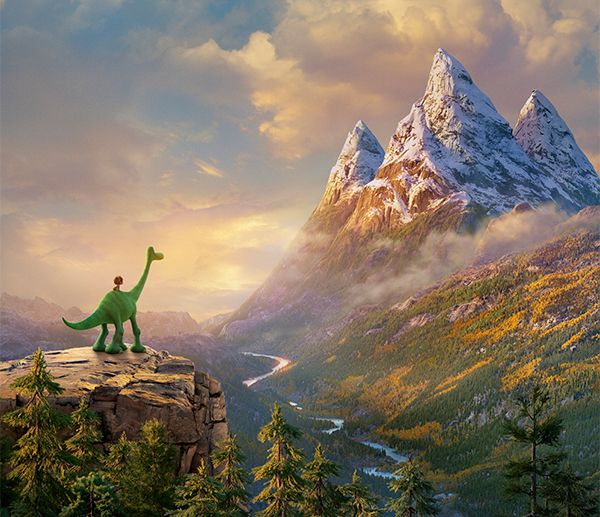 恐竜と人間、ひとりぼっち同士の絆! - 映画『アーロと少年』より