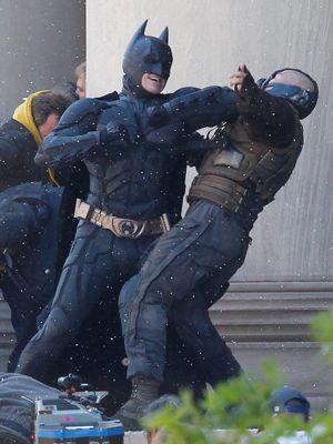 やはりバットマンとベインの戦いが一つのポイントに?