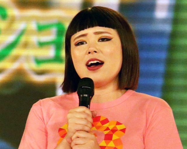 今年の「24時間テレビ」でチャリティーランナーを務めたブルゾンちえみ(写真は26日に撮影したもの)