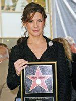 サンドラ・ブロック、キアヌ・リーヴスの横に星を獲得