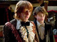 『ハリー・ポッターと炎のゴブレット』クリスマス舞踏会のワンシーン