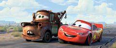 F1チャンピオン、シューマッハとアロンソがディズニー映画『カーズ』に出演