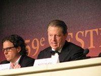 熱く語る、アル・ゴア元・米国副大統領