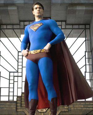 なかなかセクシーなタイツ姿『スーパーマン リターンズ』場面写真より