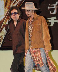 ティム・バートン&ジョニー・デップのコンビで「スウィーニー・トッド」映画化