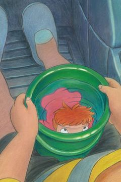 ジブリ宮崎駿の『崖の上のポニョ』主題歌は8歳の女の子と55歳おじさんで