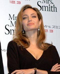 アンジェリーナ・ジョリー激怒! ブラピ元妻アニストンとの比較に記者をギロリ!