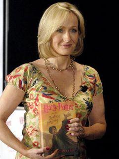 ハリポタの作家J・K・ローリング、2007年度のベスト・エンターテイナーに選ばれる
