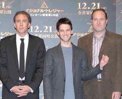 『ナショナル・トレジャー』アジアで撮るハズでは?…記者に詰め寄られ、次回こそは日本で!