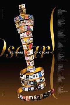 アカデミー賞の歴代作品賞のポスターが発表に