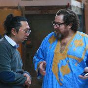 世界的アーティスト村上隆vs.『潜水服は蝶の夢を見る』のシュナーベル監督