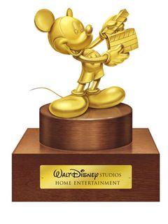 純金のミッキー・マウス1キロ、350万円相当?……あげます!
