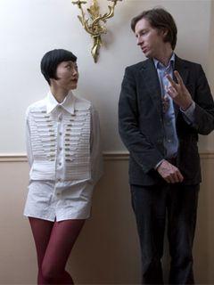 菊地凛子がほほ赤らめながらもパリで『ダージリン急行』の奇才と対談!新作オファー?