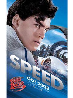 超カッコイイ!マッハ号!世界初公開の『スピード・レーサー』のポスター