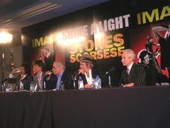 ローリング・ストーンズは70歳になっても現役で!巨匠スコセッシとNYで会見!