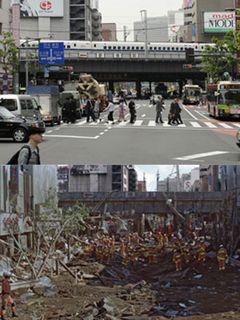 リアルすぎる!新橋破壊の衝撃映像に海外から問い合わせ殺到!