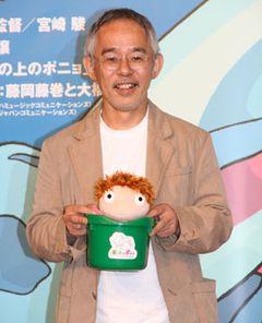 『崖の上のポニョ』ついに完成!67歳の宮崎駿監督、見た目は元気でも体はかなりお疲れと鈴木P