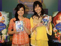 注目の若手女優・渋谷飛鳥と清水由紀が、あこがれのディズニー声優初挑戦で大感動!