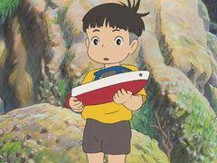 『崖の上のポニョ』観客動員1千万人突破!日本人13人に1人が観たことに!