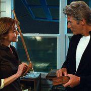 リチャード・ギアとダイアン・レインを直撃!ベッドシーンで笑いが止まらない?