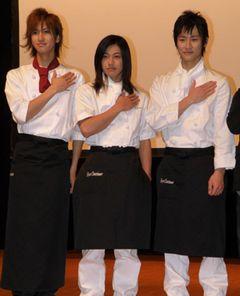 相葉弘樹、大河元気、馬場徹ら美青年俳優たちがパティシエ姿で登場し女子が大興奮!