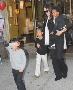 アンジェリーナ・ジョリー、テレビ番組で子どもたちの様子を語る