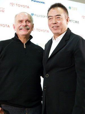 ニキータ・ミハルコフ監督とチェン・カイコー監督