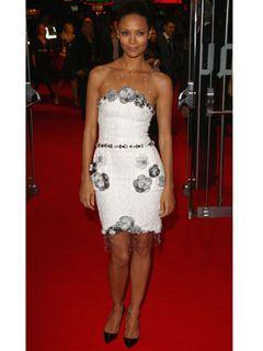 ブッシュ現大統領を描いた『W』プレミアで2女優ドレス対決【第52回ロンドン映画祭】