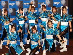 AKB48がセクシーなチュンリーコスプレで登場!限界スリットに大コーフン!