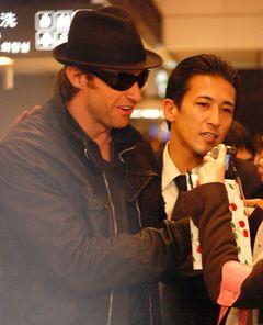 世界一セクシーな男ヒュー・ジャックマンほか、広末や『トワイライト』俳優らスターが成田空港に!