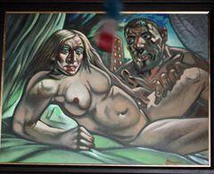 マドンナとガイ・リッチーのヌード画、推定約240万円で落札