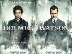 映画『シャーロック・ホームズ』キャラポスター解禁!ホームズとワトソンが!