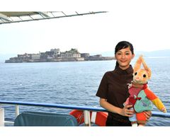 綾瀬はるか、35年ぶりに解禁された禁断の軍艦島に初上陸!!