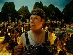 おバカ映画なのにCGがすごい!キング・オブ・コメディが恐竜と大暴れ!