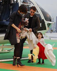 ケイティ・ホームズ、3歳のスーリちゃんの洋服代に約2億8,600万円
