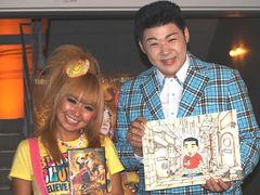 浜田ブリトニー、押しかけ女房宣言?「家、泊めて!」と演歌歌手の大江裕に強引に迫る!
