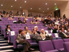 山形国際ドキュメンタリー映画祭開会式にも、台風18号の影響直撃!