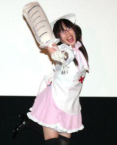現役看護師の地下鉄アイドル・メトロポリちゃんV、撲殺ライブで客をボッコボコ!!