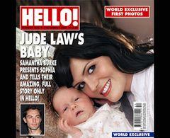 ジュード・ロウが会うよりも先に娘の写真をタブロイドで公開!「これがジュードのDNAを持つ赤ちゃんよ」