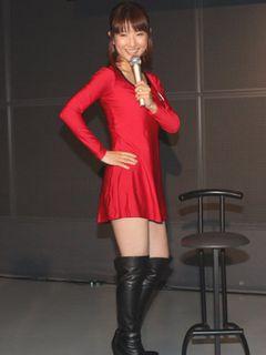 スイカップ古瀬アナ、艶やか!赤い超ミニスカドレスで登場!男性の二面性について語る