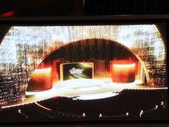 今年のアカデミー賞授賞式のステージはスワロフスキーのクリスタルを10万個!