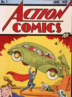 スーパーマンが初登場した雑誌の第1号が約9,000万円で落札!