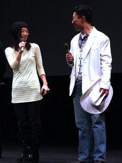 裕木奈江、笑顔で登場!イーストウッド監督、デヴィット・リンチ監督とボイル監督の撮影現場の違い語る