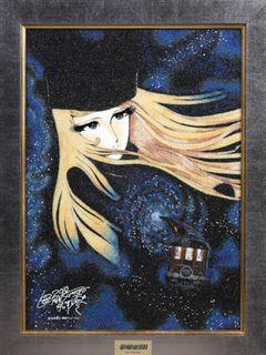 『銀河鉄道999』の映画化30周年記念で松本零士の超豪華な宝石画が販売開始!