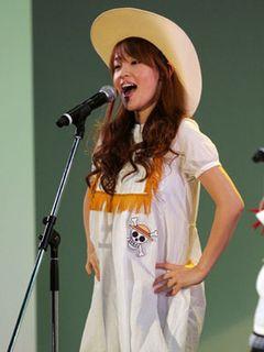 妊娠発表した大沢あかねがアニメフェアで大熱唱!「ファンのパワーに感動」と大喜び!!