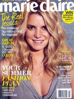 美し過ぎるすっぴん顔!ジェシカ・シンプソンが雑誌の表紙に大抜てき!!